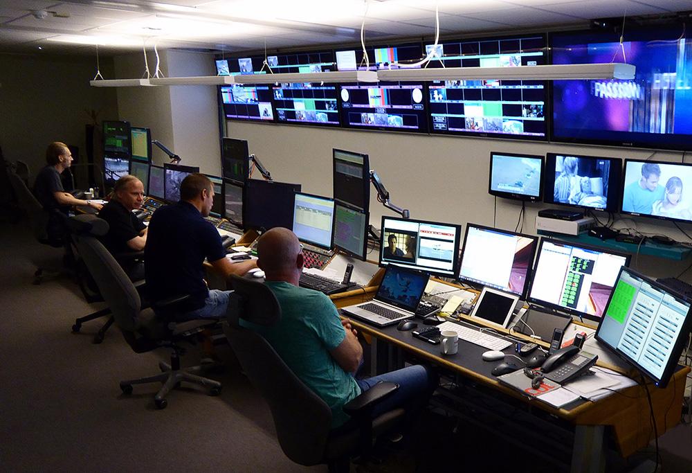 Broadcast system integration atg danmon system expansion for Control room design jobs
