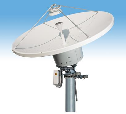 Hiltron_HMAM_with_3_point_6_metre_satellite_dish